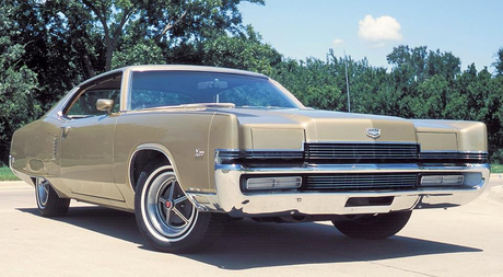Snails would drive a 1969 Mercury Marauder X-100. What would Night Glider have?