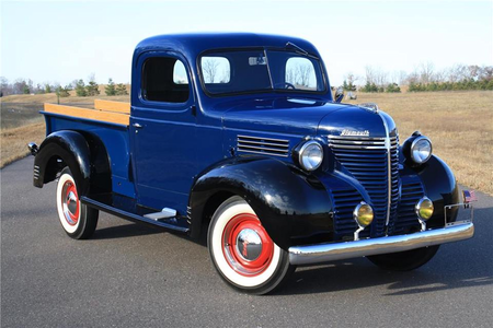 Hayseed would drive a 1940 Plymouth Pick-up. What would Shining Armor have?