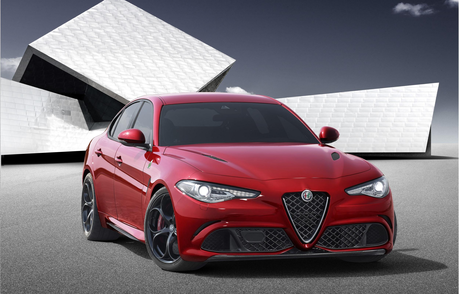 Twilight would drive a 2016 Alfa Romeo Giulia. What would Rarity have?