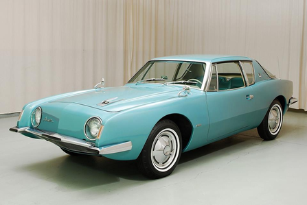 Sir pony Moore would drive a 1963 Studebaker Avanti. What would Lyra have?