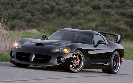 Guess who's back from the dead? xD Okay.. Twilight would drive a Dodge viper Hennessey Venom. What wo