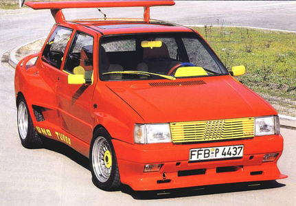 )Awesome!!! :3 ) Spike would drive a 1986 Fiat Uno Turbo. What would Maud Pie have?