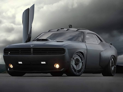 King Sombra would drive a custom 2013 Dodge Challenger R/T. What would Moon Dancer have?