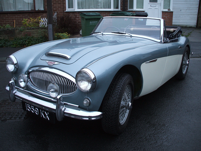 kala jengking would have a Austin-Healey 3000 BJ7. What would Discord drive?