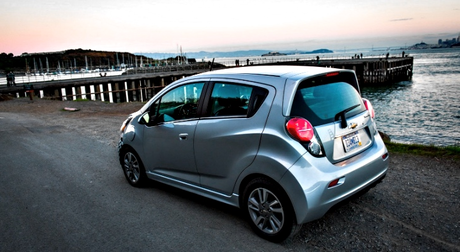 Snails would have a Chevrolet Spark EV. What would Berry punch drive?