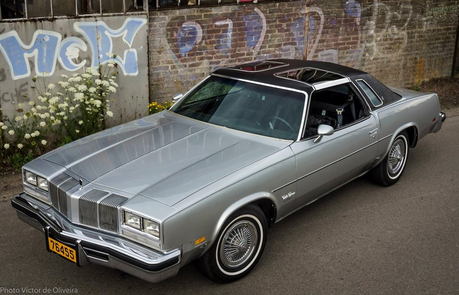 Suri Polomare would drive a 1976 Oldsmobile Cutlass Supreme Brougham. What would Rarity have?