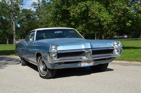Open Skies would drive a 1967 Pontiac Bonneville. What would Moon Dancer have?