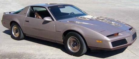 Cloudchaser would drive a 1983 Pontiac Firebird. What would Flitter have?