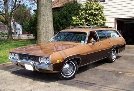 MAS Flutters would drive a 1972 Plymouth Satellite Regent Station Wagon. What would MAS Rarity have?