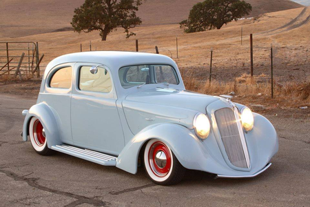 How about a 1932 custom Ford hot rod? what would EG Twilight have? The Twi in Friendship Games...