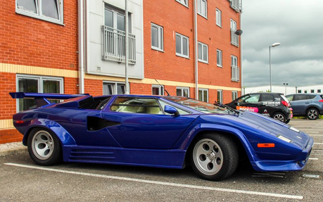 قوس قزح Dash would drive a 1981 Lamborghini Countach. What would Soarin' have?