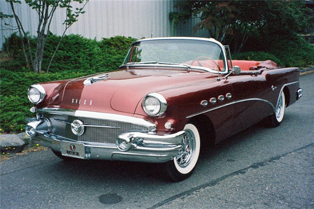 Big Mac would have a 1956 Buick Special. What would Open Skies have?