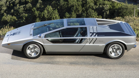 Fancy Pants would drive a 1972 Maserati Boomerang. What would Fleur De Lis have?