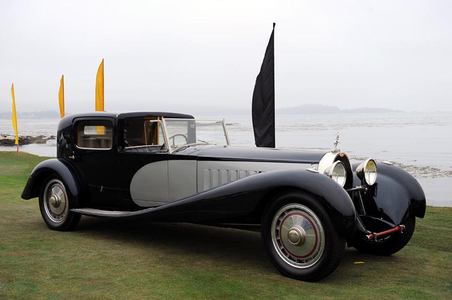 Trixie would drive a 1938 Bugatti Type 41. What would Carrot سب, سب سے اوپر have?