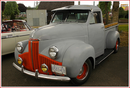 They drive 1941 Studebakers. What do the McColts have? I don't know if آپ noticed, but I've been