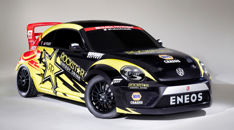 Dr. Hooves would drive a Rallycross Beetle. What would Dinky have?