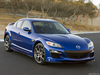 Lightning Dust would have a 2009 Mazda RX8. What would Moondancer have?