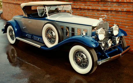 Limestone Pie would have a 1931 Cadillac V16. What would Marble Pie have?
