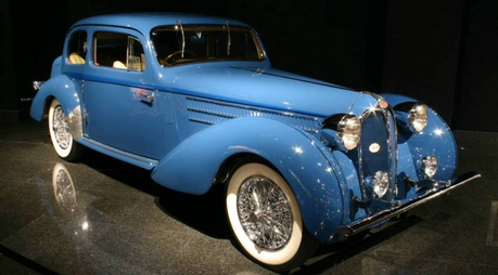 Marble Pie would drive a 1946 Delahaye Type 135M. What would Igneous Rock have?