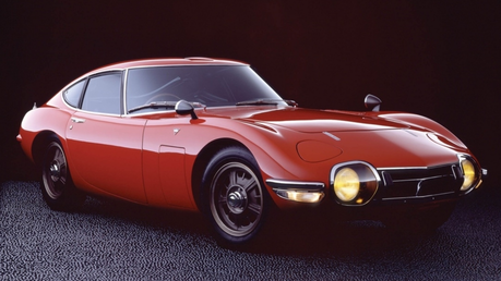 Zecora would drive a Toyota 2000GT. What would Luna have?