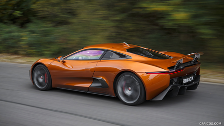 Rara would drive a 2015 Jaguar C-X 75. What would Big Mac have?