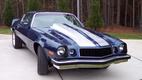 Bulk Biceps would have a 1975 Chevrolet Camaro. What would Iron Will's goat have?