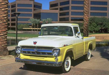 Iron Will would have a 1957 Ford Pickup. What would Fluttershy have?