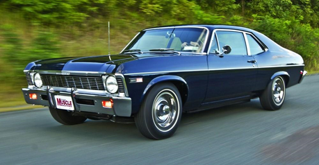 Trouble Shoes would have a 1968 Chevrolet Nova. What would Big Macintosh have?