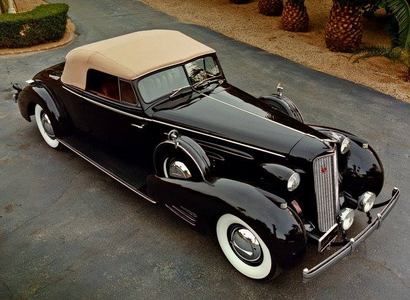 Silver Spoon would drive a 1936 Cadillac V-16 Series 90 mapapalitan Coupe. What would Babs Seed have?