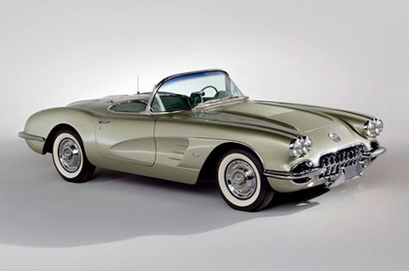 Lyra would drive a 1958 Chevy Corvette. What would Lightning Dust have?