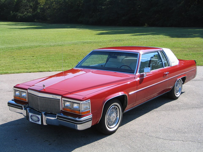 He would drive a 1980 Cadillac berlina deVille. What would Daring Do have?