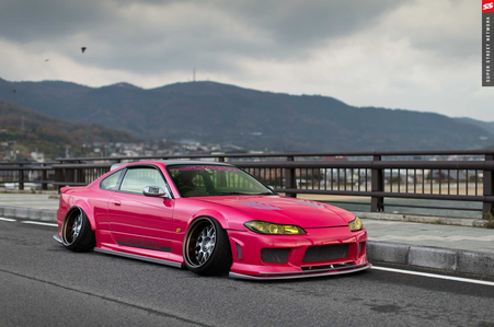 Pinkie Pie would drive a 1998 Nissan Silvia S15. What would Rarity have?