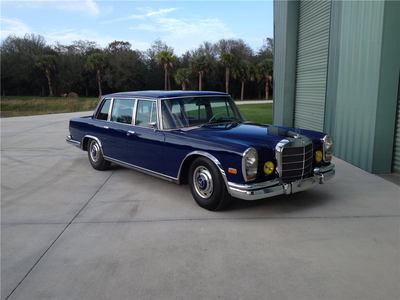 Fancy Pants would drive a 1969 Mercedes Benz 600. What would Sapphire Shores have?