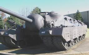 Tank would drive this T-28 Super Heavy Tank. What would Winona have.