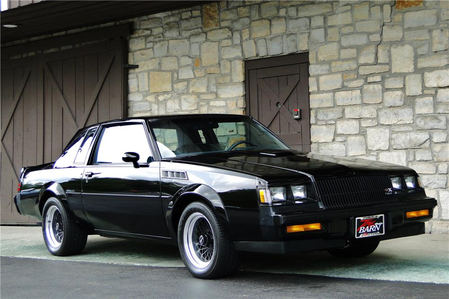 Sir ポニー Moore drives a 1987 Buick Grand National. What would Cranky Doodle drive?