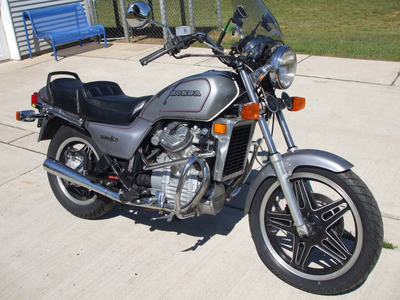 Maud Pie has a 1982 Honda Silverwing. What does Marble Pie have?
