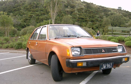 Marble Pie has a 1980 Mitsubishi Mirage. What does Limestone Pie drive?