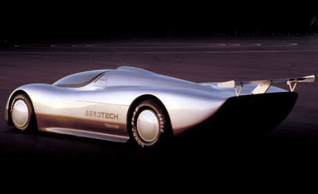Derpy drives a 1987 Oldsmobile Aerotech. What does Luna have?