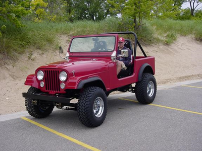 Sombra drives a 1984 Jeep CJ7. What does Discord have?