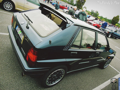 Derpy has a 1987 Lancia Delta. What would Tirek have? Oh and what do tu say about only American