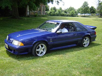 Tirek drives a 1988 Ford Mustang. What would Mane-iac drive?