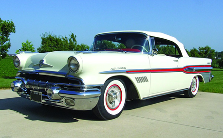 Diamond Tiara has a 1957 Pontiac Bonneville. What does Silver Spoon have?