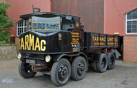 The buffaloes have 1929 Sentinel DG8 steam powered trucks. What would the changelings drive?