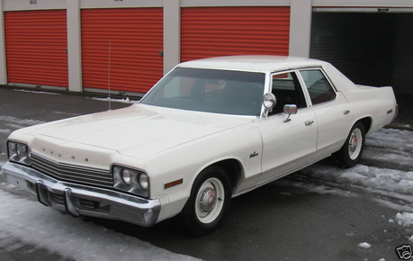 Changelings drive a 1974 Dodge Monaco. What does spike drive?