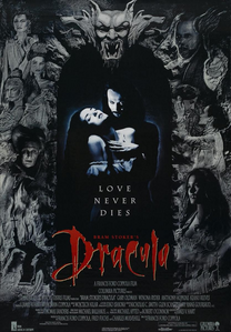BRAM STOKER`S DRACULA !!!! GREAT POSTER, GREAT ACTORS, GREAT SOUNDTRACK AND GREAT MOVIE EVERRRRRR