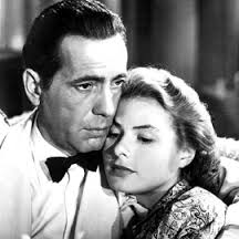 Casablanca with Ingrid Bergman and Humphrey Bogart.