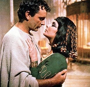 Cleopatra (1963) Cleopatra (Elizabeth Taylor) and Marc Anthony (Richard Burton)