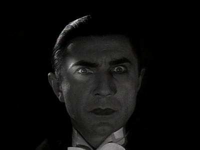 Dracula. from the movie from 1931