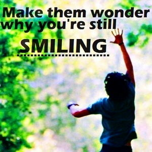 """""""Have the courage to fail big and stick around. Make them wonder why you're still smiling."""" - Claire"""
