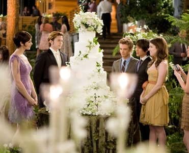 Here, Twilight Bella and Edward wedding cake